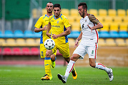 Matija Sirok of NK Domzale during football match between NK Domzale and FC Lusitanos Andorra in second leg of UEFA Europa league qualifications on July 7, 2016 in Andorra la Vella, Andorra. Photo by Ziga Zupan / Sportida