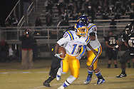 Oxford High's Glenn Gordon (11) vs. New Hope in New Hope, Miss. on Friday, October 18, 2013. Oxford High won 39-14 to remain undefeated.