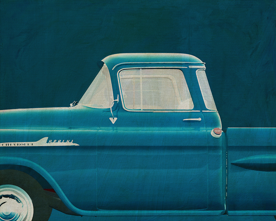 If you want to give your interior an extra stylish detail, this 1959 Chevrolette Apache painting is perfect. –<br />