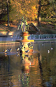 Harrisburg, PA, Italian Lake, Sculpture and Fountain, Uptown City Park