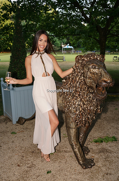 Hurlingham Club ,London, England, UK. 10th July, 2017. British Formula One racing legends and celebrities turned head on the red carpet at Hurlingham Club  this evening ahead of next week's British Grand Prix. The Grand Prix Ball, an annual social-calendar highlight, this year hosted by Tiff Needell, David Coulthard and Christian Horner, raises thousands of pounds for charity each year and has now partnered with charity 'Wings for Life' spinal cord research foundation. Guests and celebrities looked stunning in their stylish outfits and were treated to an exclusive F1 demonstration before a Gala dinner, charity auction and performances by The Gipsy Kings and DJ Seb Fontaine took place on 13th July 2017 at Ranelagh Gardens.