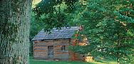 Kentucky. Abraham Lincoln's boyhood home 1811-1816, at Knob Creek in Hodgenville