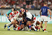 Pieter LABUSCHAGNE (JPN) during the Japan 2019 Rugby World Cup Pool A match between Japan and Russia at the Tokyo Stadium in Tokyo on September 20, 2019.