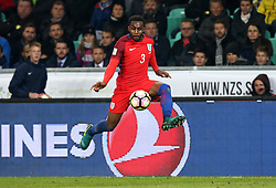 Danny Rose of England controls the ball in the air - Mandatory by-line: Robbie Stephenson/JMP - 11/10/2016 - FOOTBALL - RSC Stozice - Ljubljana, England - Slovenia v England - World Cup European Qualifier