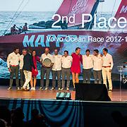 NLD/Scheveningen/20180630 - Koning bij Award Diner Volvo Ocean Race, Mapfre<br /> Volvo Ocean 65