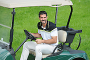Julian Speroni enjoying himself during the Julian Speroni Testimonial Golf Day at the Surrey National Golf Club, Chaldon, United Kingdom on 9 September 2015. Photo by Michael Hulf.