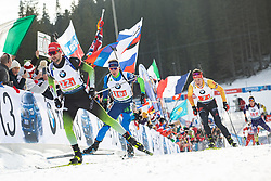 Jakov Fak (SLO) during the Mixed Relay 2x 6 km / 2x 7,5 km at day 3 of IBU Biathlon World Cup 2019/20 Pokljuka, on January 23, 2020 in Rudno polje, Pokljuka, Pokljuka, Slovenia. Photo by Peter Podobnik / Sportida