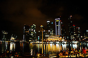 Singapore in the evenings