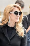 Celine Dion - Show Dior - Paris Fashion Week Haute Couture 2016/2017 - July 4, 2016 - FRANCE<br /> ©Exclusivepix Media