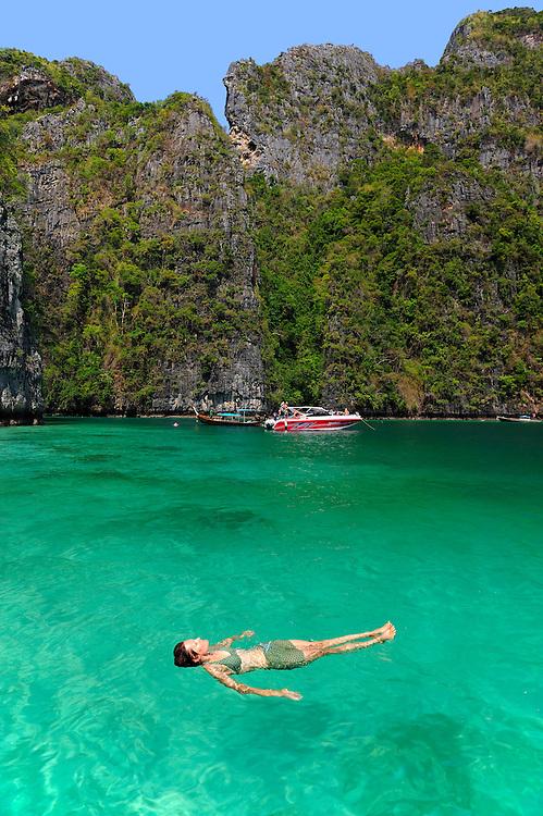 Pileh Bay, Phi Phi Lay Island, Andaman Sea, Thailand
