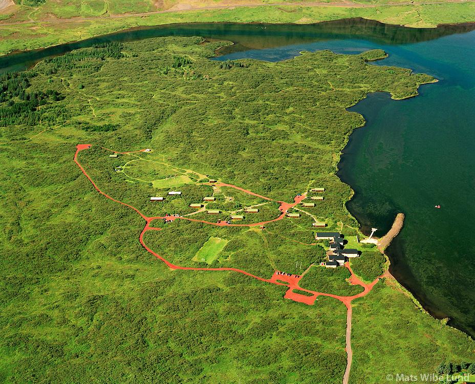 Selv&iacute;k - orlofsh&uacute;sasv&aelig;&eth;i Landsbanka &Iacute;slands vi&eth; &Aacute;lftavatn, Gr&iacute;msneshreppur.<br /> Selvik holiday homes belonging to Landsbanki Islands. situated at the banks of lake Alftavatn. Grimsneshreppur.