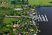 Nederland, Utrecht, Loosdrecht, 23-05-2011; jachthaven Loosdrechtse Plassen.Marina in the recreation area Loosdrechtse Plassen. luchtfoto (toeslag), aerial photo (additional fee required).copyright foto/photo Siebe Swart