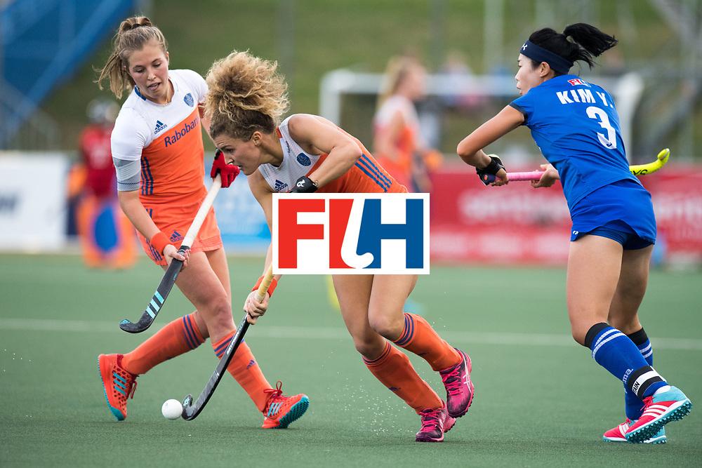 AUCKLAND - Sentinel Hockey World League final women<br /> Match id: 10299<br /> 09 NED v KOR (Pool A)<br /> Foto:  Maria Verschoor.<br /> WORLDSPORTPICS COPYRIGHT FRANK UIJLENBROEK
