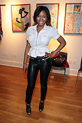 May 7, 2012- New York, NY United States: - Actress Claudia McCoy attends the Theater Talks at the Schomburg: A Streetcar Named Desire held at the Schomburg Center for Research in Black Culture, part of the New York Public Library on May 7, 2012 in Harlem Village, New York City. The Schomburg Center for Research in Black Culture, a research unit of The New York Public Library, is generally recognized as one of the leading institutions of its kind in the world. For over 80 years the Center has collected, preserved, and provided access to materials documenting black life, and promoted the study and interpretation of the history and culture of peoples of African descent.  (Photo by Terrence Jennings) .