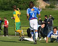 Photo: Maarten Straetemans.<br /> FC Zwolle v Norwich City. Pre Season Friendly. 25/07/2007.<br /> David Strihavka scored the 0-1 for Norwich City