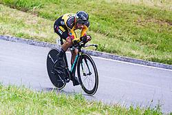 Primoz Roglic during Slovenian Road Cycling Championship in time trial 2020 on June 28, 2020 in Zg. Gorje - Pokljuka, Slovenia. Photo by Peter Podobnik / Sportida.