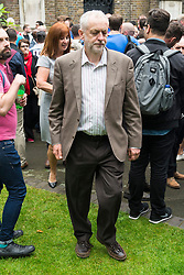 © Licensed to London News Pictures. 13/06/2016. British Labour party leader Jeremy Corbyn joins London's gay village to honour victims of Pulse shooting in the United States.  It is alleged that The gunman, Omar Mateen killed at least 50 people in Pulse nightclub in Floriday, USA.  London, UK. Photo credit: Ray Tang/LNP