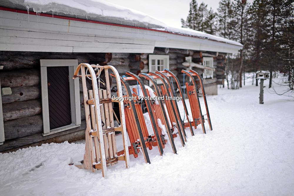 Kakslauttanen Arctic Resort in Saariselka, Finland