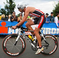 03.07.2011, Ironman Austria, Klagenfurt, Kaernten, im Bild, Sandi Ivancic, SLO, EXPA Pictures © 2011, PhotoCredit: EXPA/ M. Kuhnke