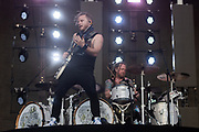 Shinedown perform on May 4, 2019 at Metropolitan Park in Jacksonville, Florida (Photo: Charlie Steffens/Gnarlyfotos)