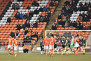 Blackpool fans watch on during the EFL Sky Bet League 1 match between Blackpool and Bristol Rovers at Bloomfield Road, Blackpool, England on 13 January 2018. Photo by Mark Pollitt.