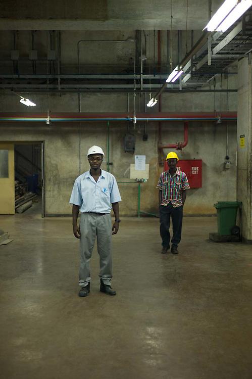 Supervisor at Akosombo dam, 2011