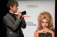 10th Film Festival Lumiere - October 19: Jane Fonda receives the Prix Lumiere 2018.<br /> Mark Cousins attends the Prix Lumiere 2018