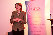 At the opening of Galway Rape Crisis Centre's new premises by Garry Hynes of Druid (and newly appointed Patron) of the GRCC was Aoibheann McCann Executive Director GRCC. Picture:Andrew Downes.