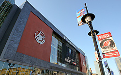 March 19, 2011; Newark, NJ, USA; The Prudential Center plays host to UFC 128 and Fan Fest.