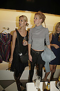 Melanie Scheriau and Olivia Inge, PPQ of Mayfair shop launch. 47 Conduit St. 18 September 2006. ONE TIME USE ONLY - DO NOT ARCHIVE  © Copyright Photograph by Dafydd Jones 66 Stockwell Park Rd. London SW9 0DA Tel 020 7733 0108 www.dafjones.com
