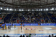 Marketing ,Panasonic, Maniva, Molten, Zurich Connect, Fastweb, Turkish Airline, Airness, Anthea<br /> Zurich Connect Supercoppa 2018-2019<br /> Lega Basket Serie A<br /> Brescia 29/09/2018<br /> Foto Ciamillo & Castoria