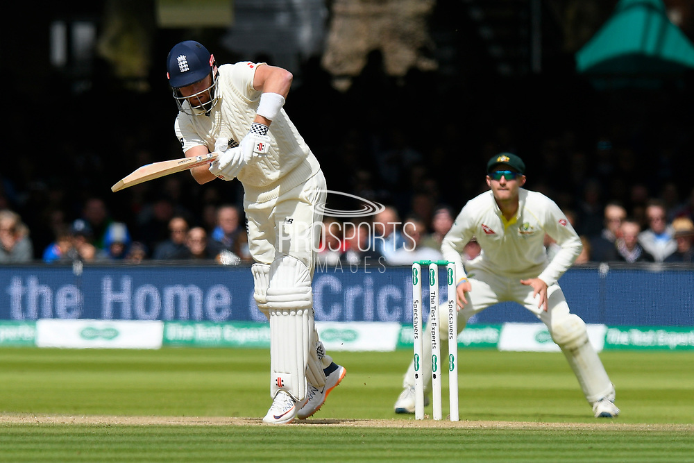 Jonny Bairstow of England batting during the International Test Match 2019 match between England and Australia at Lord's Cricket Ground, St John's Wood, United Kingdom on 18 August 2019.