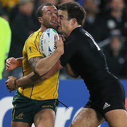 October 16, 2011 IRB RWC  Semi Final: New Zealand v Australia