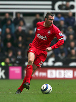 Photo: Andrew Unwin.<br /> Newcastle United v Liverpool. The Barclays Premiership. 19/03/2006.<br /> Liverpool's Jamie Carragher took the captain's armband following the substitution of Steven Gerrard.