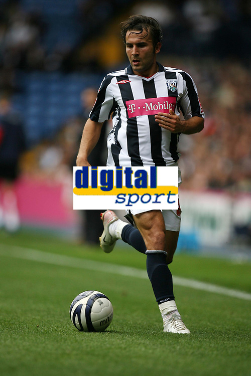 Photo: Rich Eaton.<br /> <br /> West Bromwich Albion v Barnsley. Coca Cola Championship. 01/09/2007. West Bromwich Albion's Filipe Teixeira, man of the match.