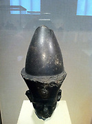 Bust of Amenemhat III, Pharaoh of Egypt between 1860-1814 BC. Circa 12th Dynasty. Made from Granodiorite.