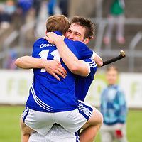 Padraic Collins and Conor Ryan celebrate after their county final win
