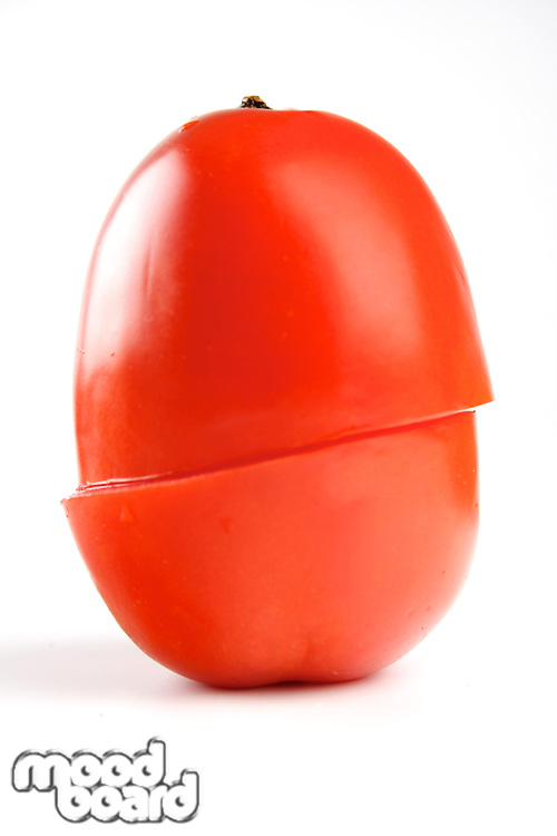 Tomato on white background - studio shot