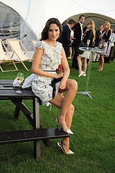 ASTRID MUNOZ at the 4th Jaeger-LeCoultre Polo Cup in aid of the James Wentworth-Stanly Memorial Fund held at Coworth Park, Ascot, Berkshire on 10th September 2010.