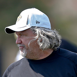 Jul 26, 2013; Metairie, LA, USA; New Orleans Saints defensive coordinator Rob Ryan during the first day of training camp at the team facility. Mandatory Credit: Derick E. Hingle-USA TODAY Sports