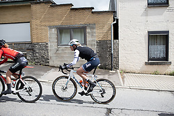 Ellen van Dijk (NED) of Trek-Segafredo near ther front during the Liege-Bastogne-Liege Femmes - a 138.5 km road race, between Bastogne and Liege on April 28, 2019, in Wallonie, Belgium. (Photo by Balint Hamvas/Velofocus.com)