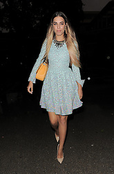 Amber Le Bon attends LFW: Matthew Williamson - s/s 2014 catwalk show in London 15/09/2013<br />BYLINE MUST READ : GOTCHAIMAGES.COM<br /><br />Copyright by © Gotcha Images Ltd. All rights reserved.<br />Usage of this image is conditional upon the acceptance <br />of Gotcha Images Ltd, terms and conditions available at<br />www.gotchaimages.com