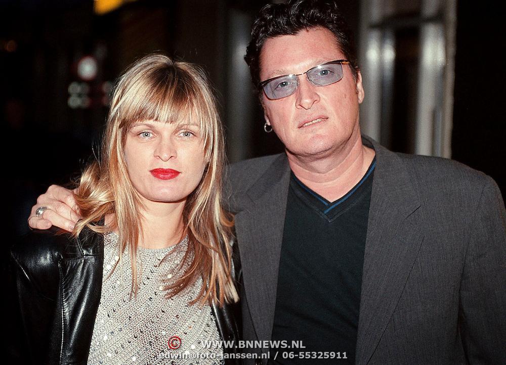 Slotfilm Utrechts Filmfestival 1999 film Golden Earring, Barry Hay en vrouw Sandra Bastiaan