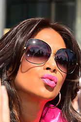 The X Factor auditions.<br /> Nicole Scherzinger arrives for the London auditions of 'The X Factor',<br /> London, United Kingdom<br /> Monday, 15th July 2013<br /> Picture by Nils Jorgensen / i-Images