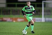 Forest Green Rovers Ethan Hill(3) during the FA Youth Cup match between U18 Forest Green Rovers and U18 Cheltenham Town at the New Lawn, Forest Green, United Kingdom on 29 October 2018.
