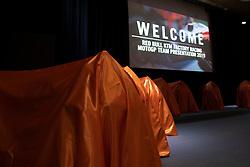 12.02.2019, Munderfing, AUT, MotoGP, Teampräsentation KTM Factory Racing, im Bild feature // during the presentation of KTM factory racing for the upcoming Season in Munderfing, Austria on 2019/02/12. EXPA Pictures © 2019, PhotoCredit: EXPA/ Reinhard Eisenbauer