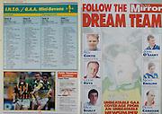 All Ireland Senior Hurling Championship - Final, .13.09.1998, 09.13.1998, 13th September 1998, .13091998AISHCF,.Senior Kilkenny v Offaly, .Minor Kilkenny v Cork,.Offaly 2-16, Kilkenny 1-13,.The Mirror, .MIchael Duignan and Kevin Martin, Offaly, Brian McEvoy, Kilkenny,