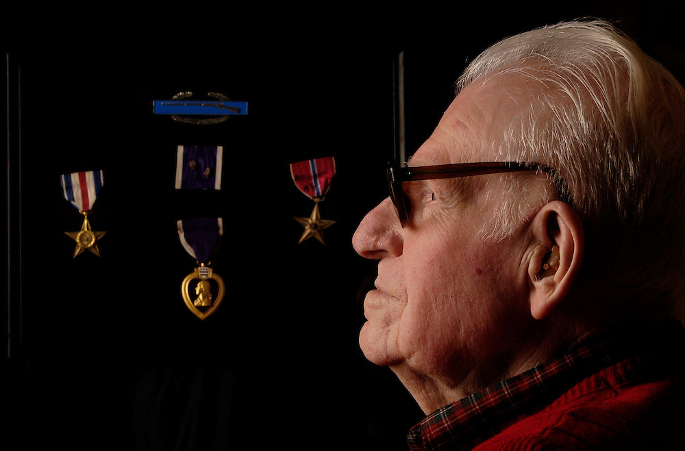 Joe Bourne reflects on his experiences during World War II, service that lead to him receiving the Silver and Bronze Stars and the Purple Heart three time.