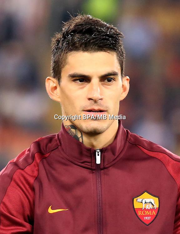 Italian League Serie A -2016-2017 / <br /> ( AS Roma ) - <br /> Diego Perotti