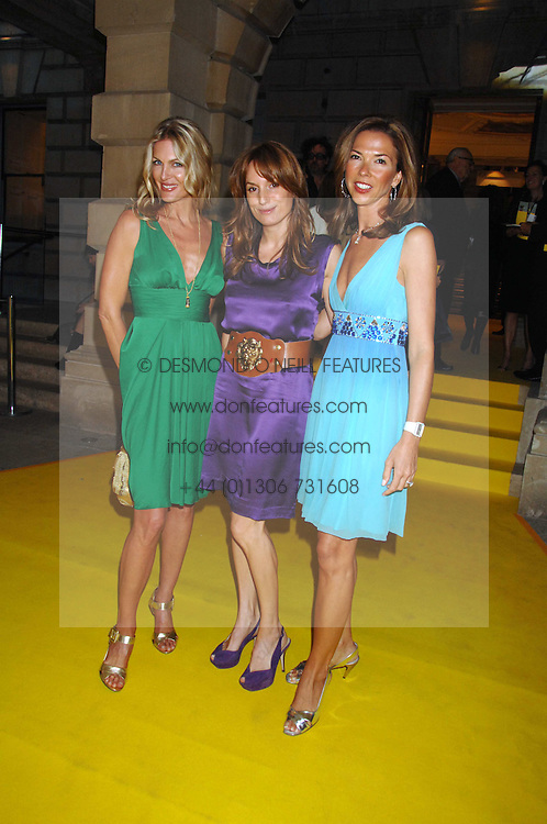 Left to right, PRISCILLA PHILLIPS, EMILY OPPENHEIMER-TURNER and HEATHER KERZNER at the Royal Academy of Arts Summer Exhibition Party at the Royal Academy, Piccadilly, London on 6th June 2007.<br /><br />NON EXCLUSIVE - WORLD RIGHTS